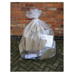 Clear Refuse Bags Pk200