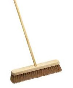 "12"" Coco Sweeping Broom"